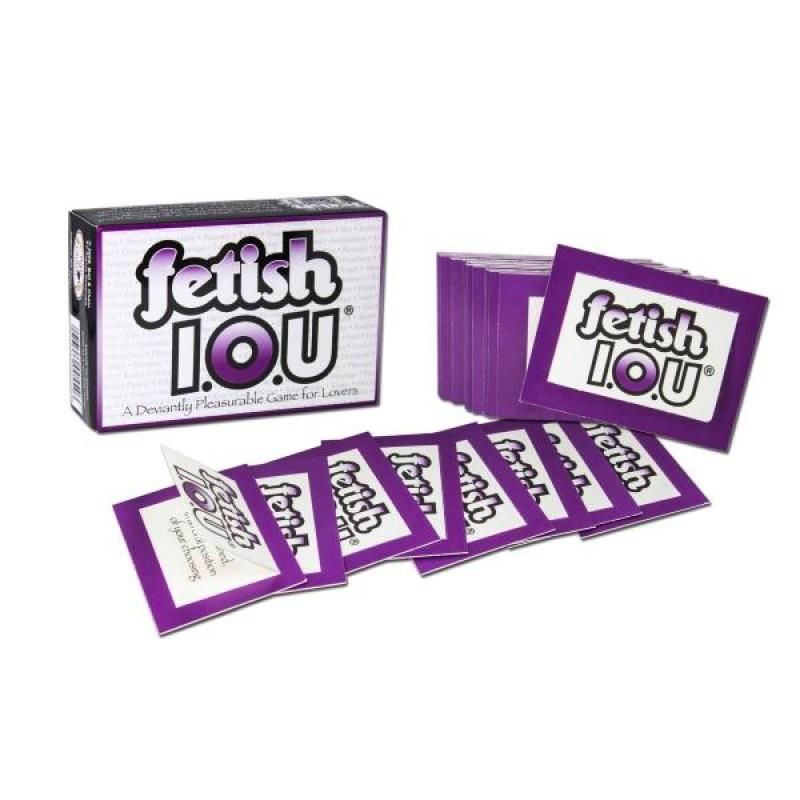 美國 Fetish IOU Coupon 遊戲