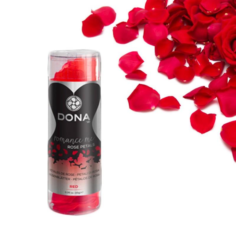 美國 DONA 絲質調情玫瑰花瓣