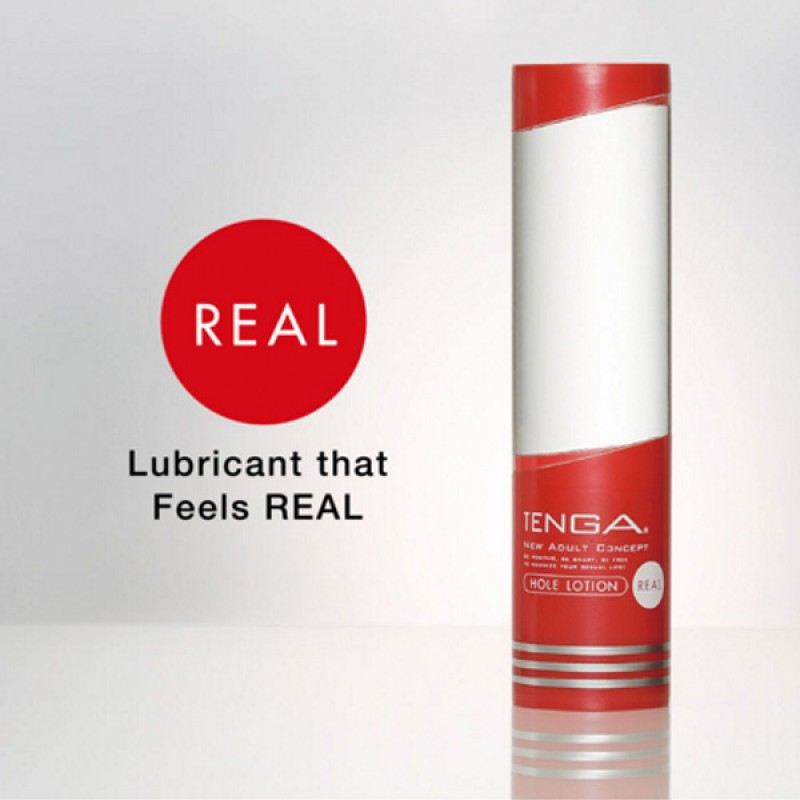 日本 Tenga Hole Lotion Real 潤滑油 (紅色) 170ML