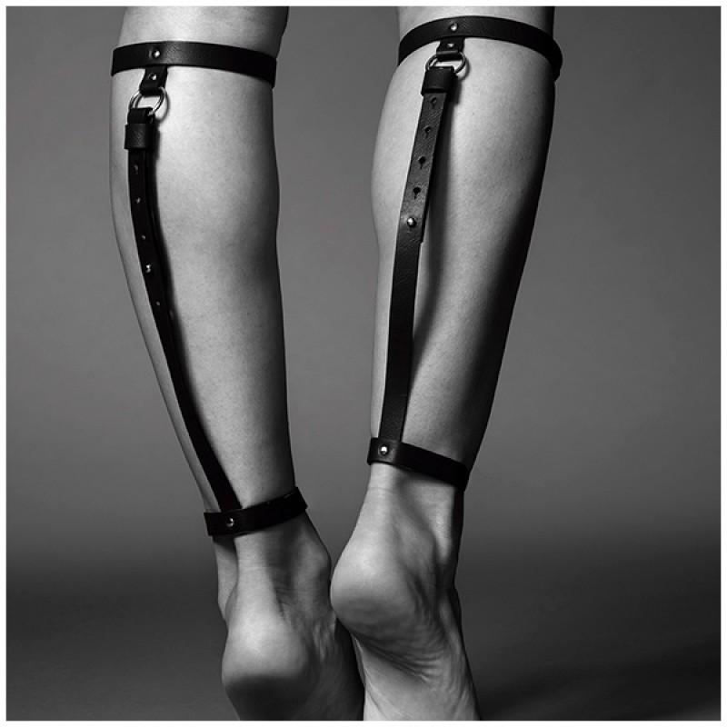 西班牙 Bijoux Indiscrets MAZE 後腿性感仿皮吊帶