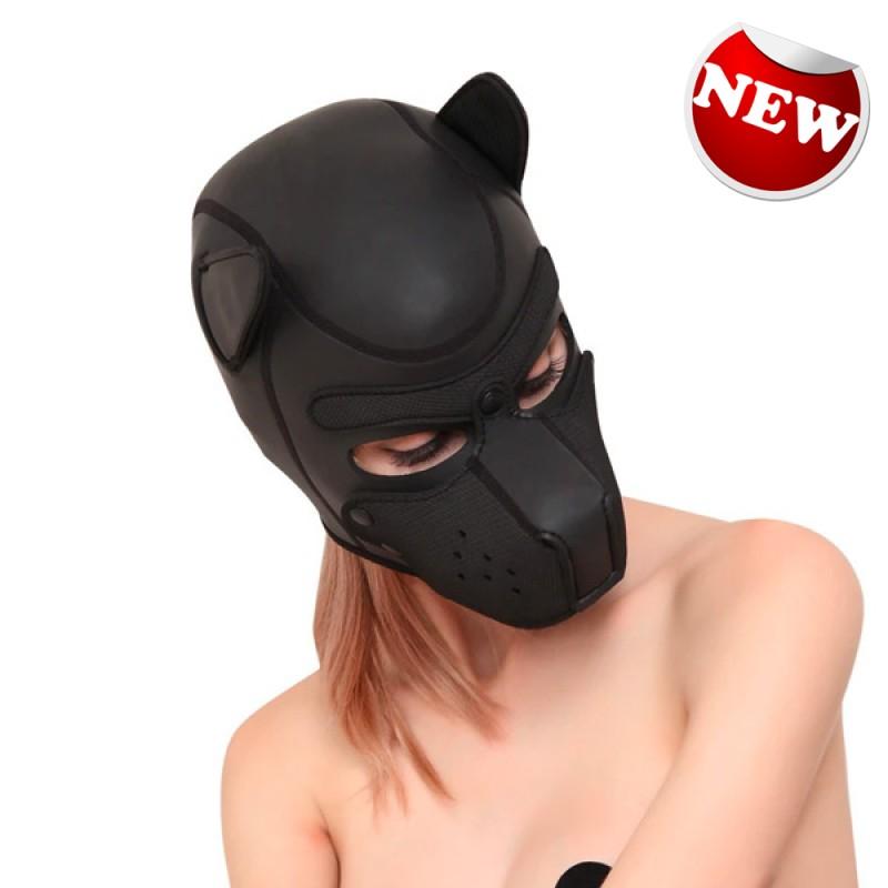 LUV Sex Cosplay Neoprene 犬形面罩