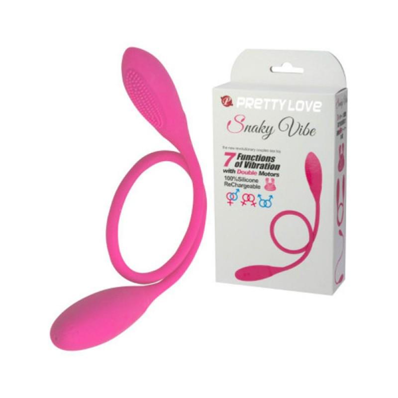 日本 PrettyLove Snaky Vibe 全能雙頭震動器