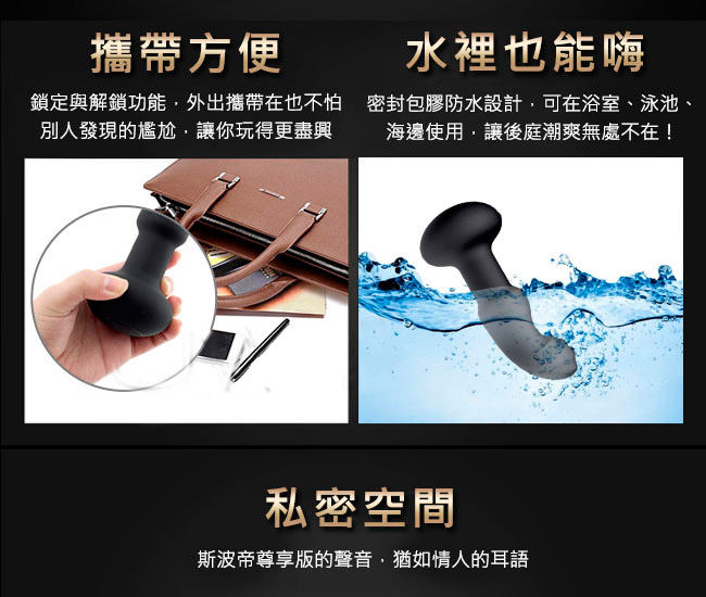 Nomi Tang Pluggy RC Prostate Massager