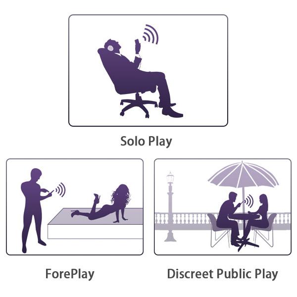 Lovense HUSH Apps Control Vibrating Anal Plug