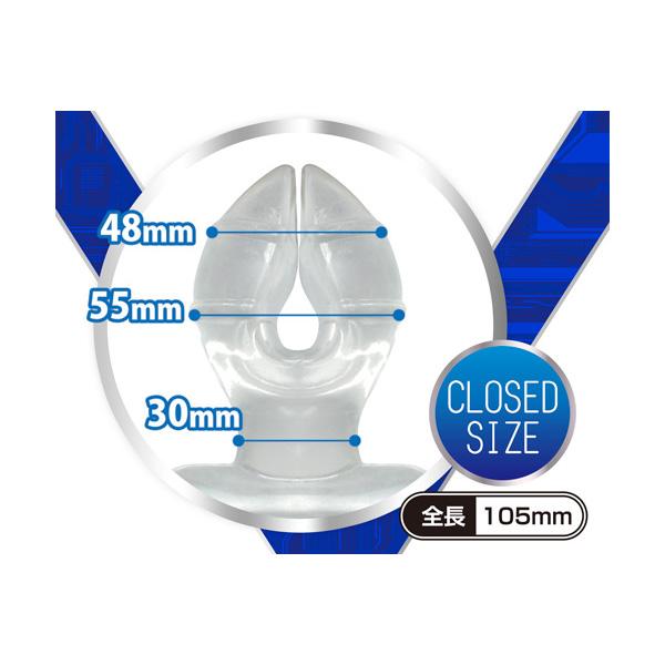 成人用品日本 A-One Pack Aaan 上級後庭塞 硬版
