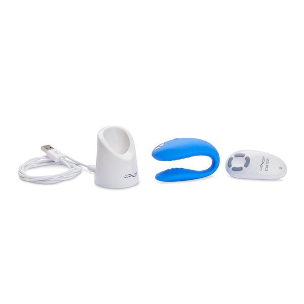 WWe-Vibe Match Remote Control Couples Vibrator