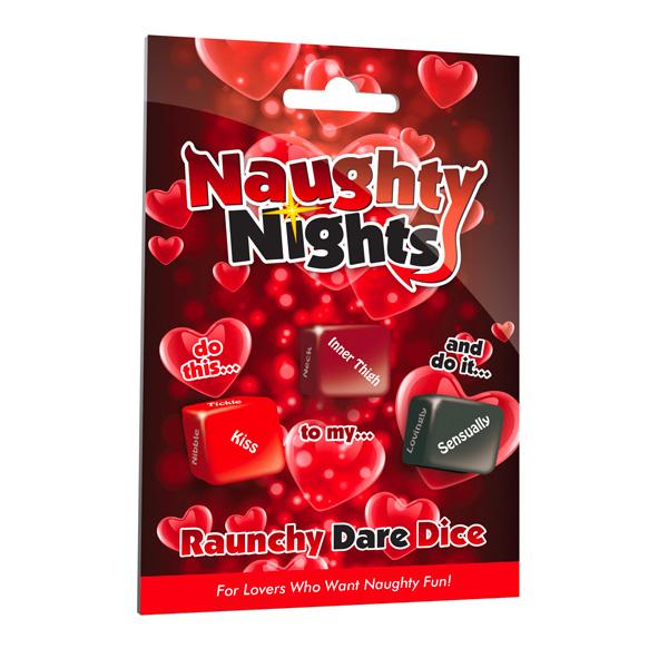 情趣用品 Naughty Nights Dare Dice