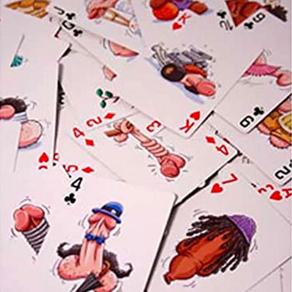 Pecker Playing Cards  超攪笑陽具撲克牌