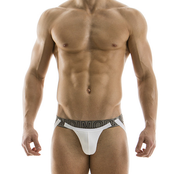 Modus Vivendi - Plain Jockstrap White and Bronze