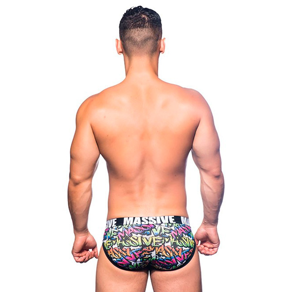 Andrew Christian - Massive 模街頭塗鴉網格性感內褲