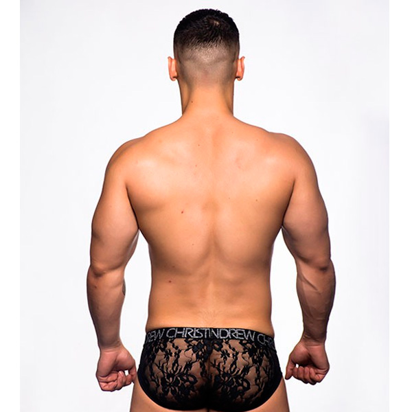Andrew Christian - Lace Brief w/ Almost Naked 性感內褲
