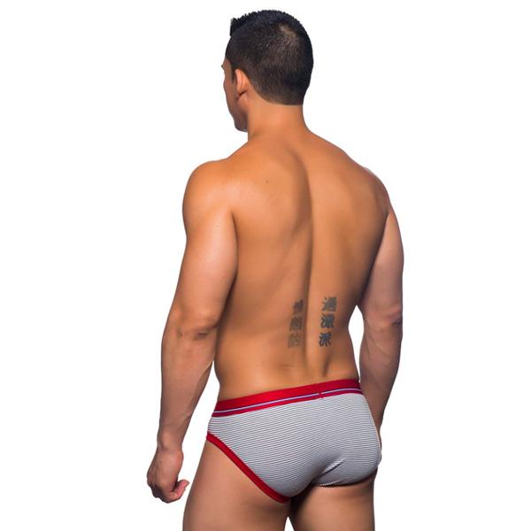 Andrew Christian - California Collection Stripe Brief 性感內褲