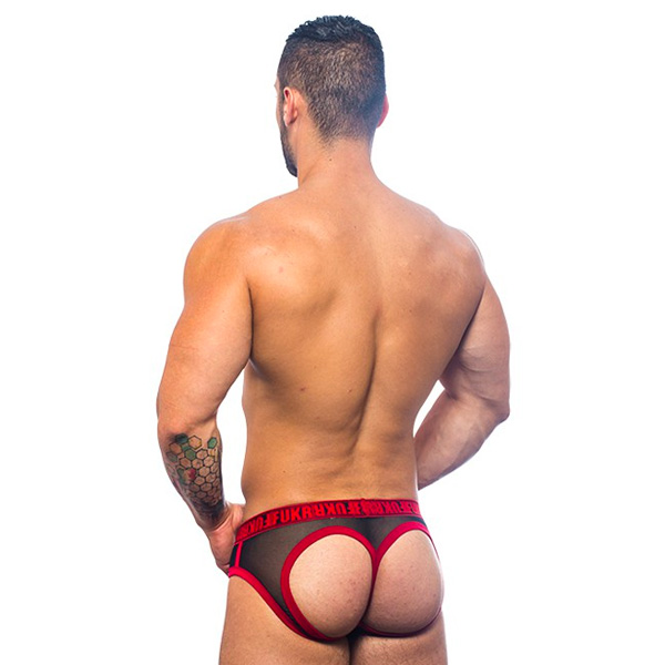 Andrew Christian - FUKR Gigolo Mesh Bubble Butt Thong