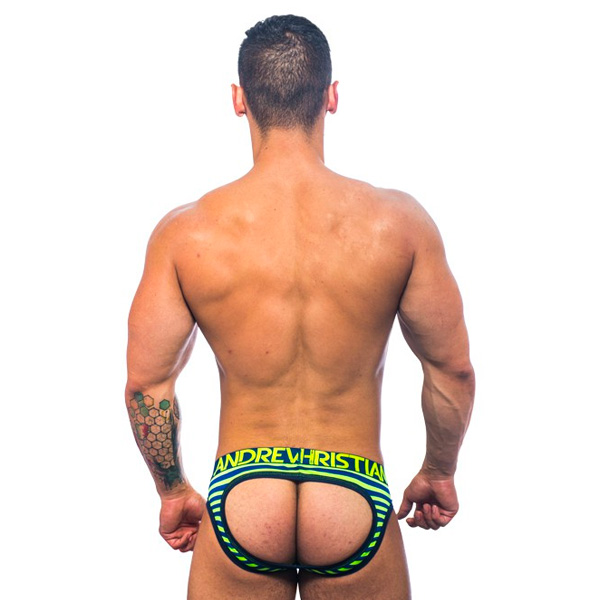 Andrew Christian - Almost Naked Electric Stripe Air Jock