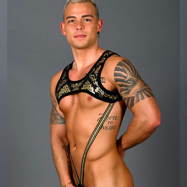 Andrew Christian - MASSIVE Iconic C-Ring Harness