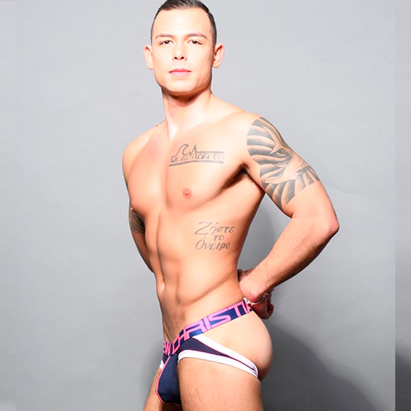 Andrew Christian - Show-It Retro Pop Comfort Jock Navy