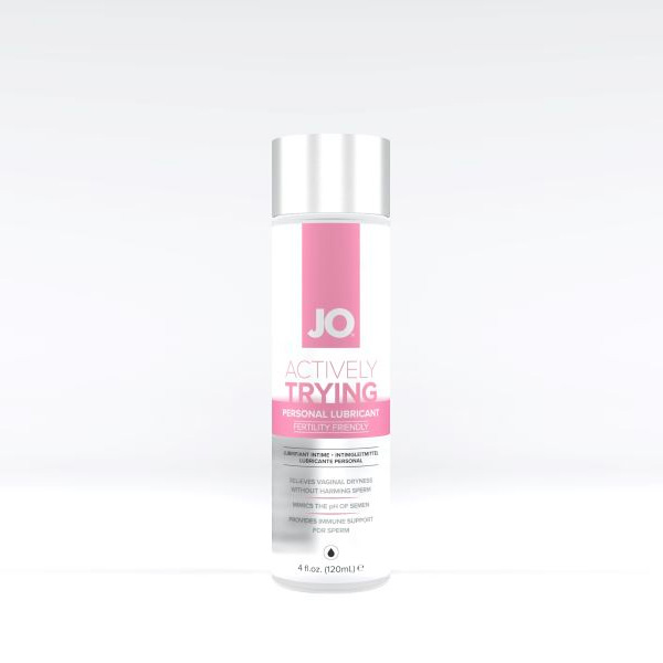 System JO - Actively Trying Lubricant