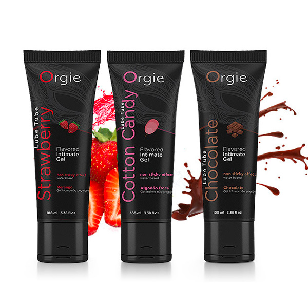 Orgie Lube Tube Cotton Candy Kissable Lubricant