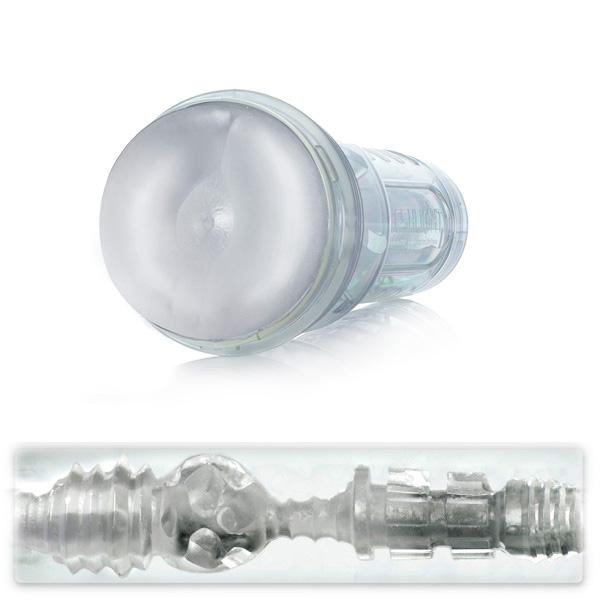 情趣用品FleshJack ICE Bottom 透明後庭水晶型自慰器