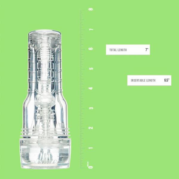 美國 FleshLight GO Torque Ice 透明型自慰器
