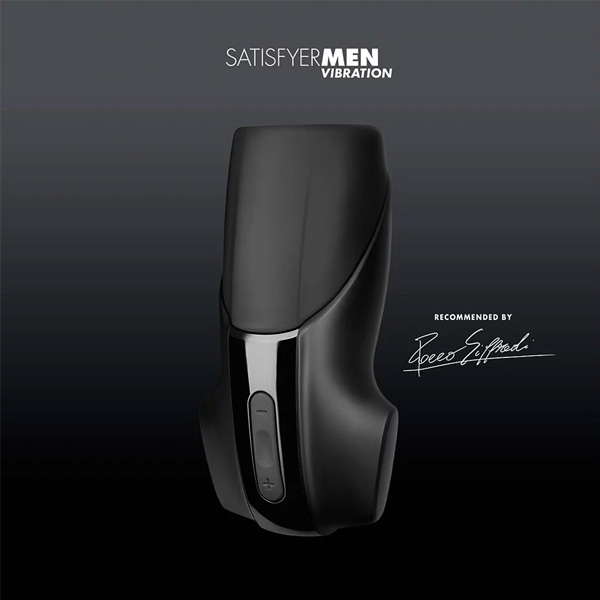 SATISFYER MEN VIBRATION Electronic Masturbation Cup