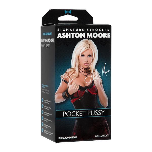 Signature Strokers - Ashton Moore ULTRASKYN Pocket Pussy