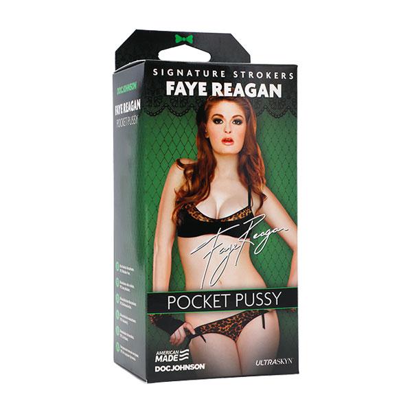 Signature Strokers - Faye Reagan ULTRASKYN Pocket Pussy