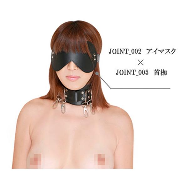 情趣用品日本 SM藝術 Joint_002 SM 眼罩 (紅色)