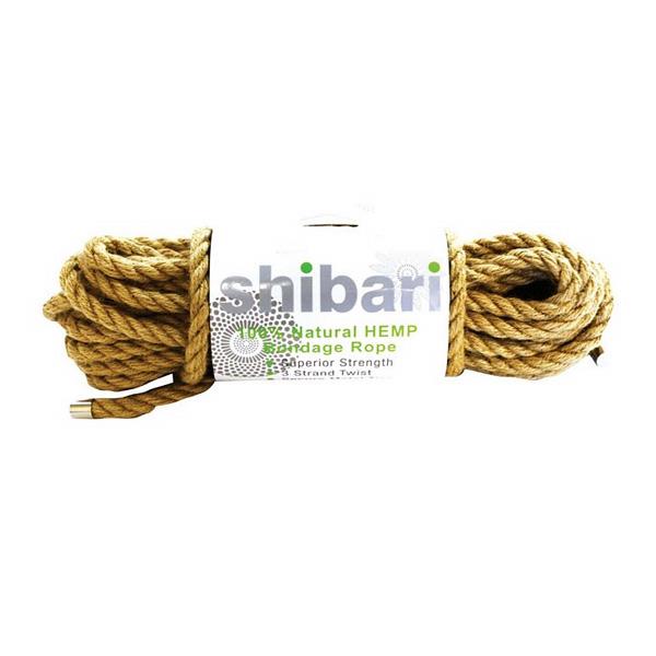 Shibari Natural Hemp Bondage Rope