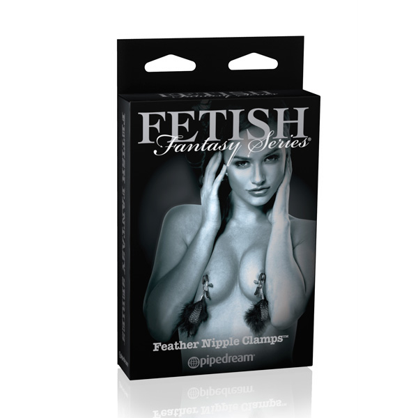 Fetish Fantasy Series Limited Edition Feather Nipple Clamps