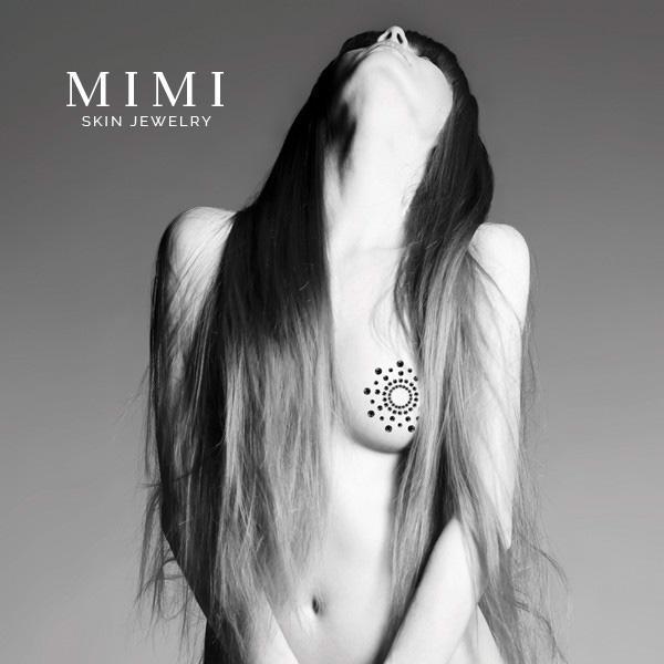 Bijoux Indiscrets MIMI BOW Blackc