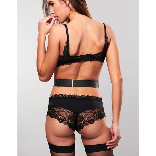 Bijoux Indiscrets MAZE - Suspender Belt Black