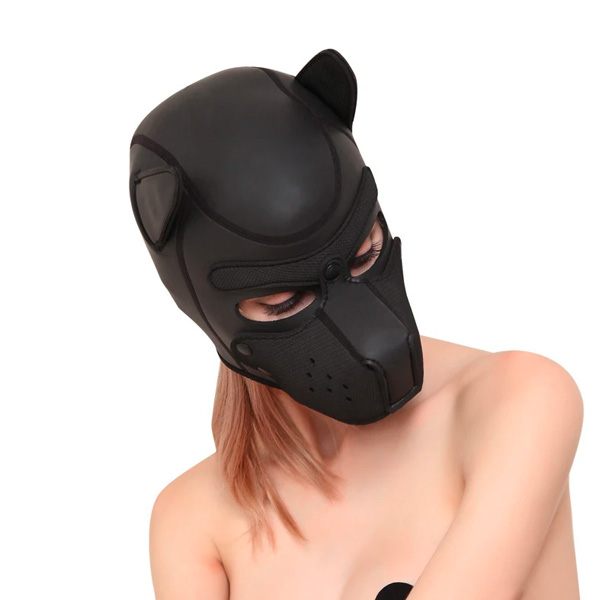 LUV Sex Cosplay Neoprene Puppy Hood