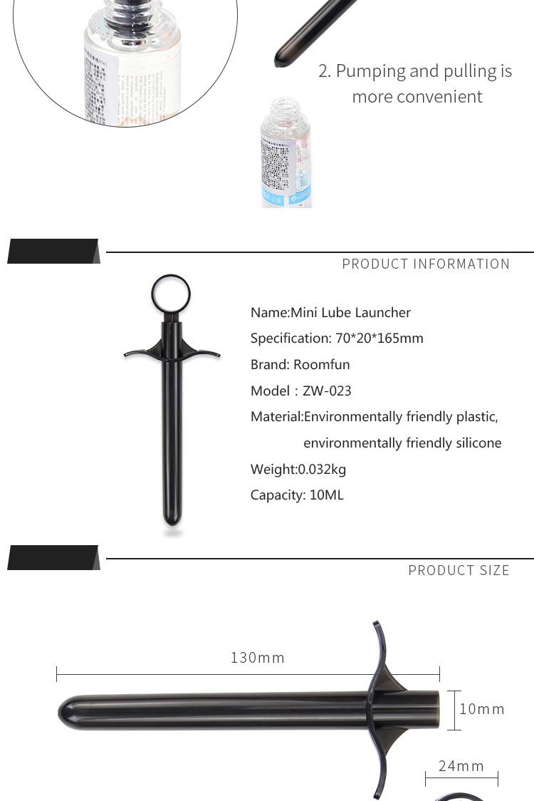 RoomFun Lubricant Launcher