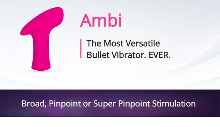 情趣用品 Lovense ambi Bullet Vibrator