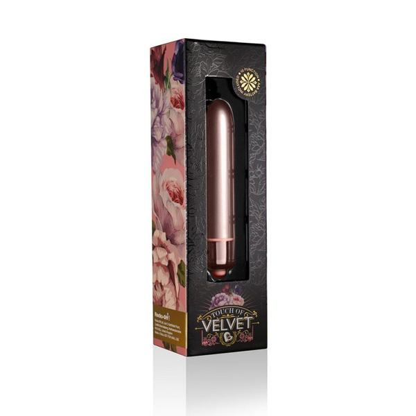 Rocks-Off - Touch of Velvet Rose Blush 90mm Bullet Vibrator