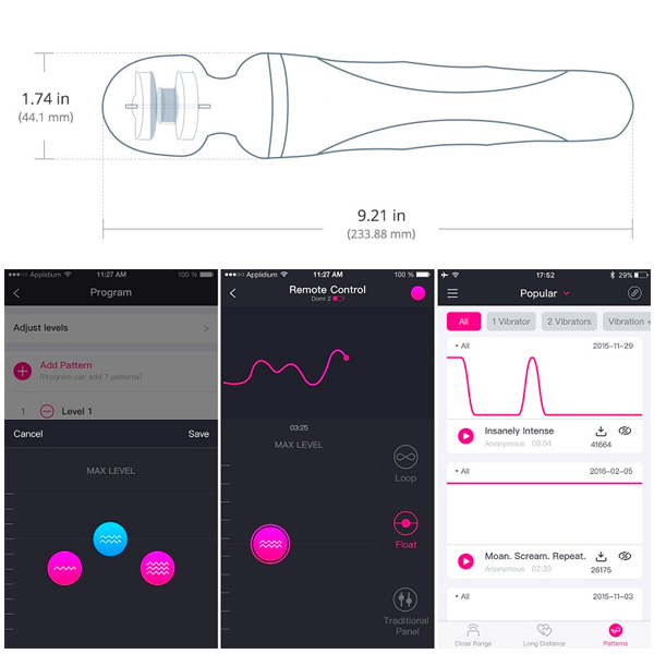 Lovense DOMI 2 App Controlled Massager