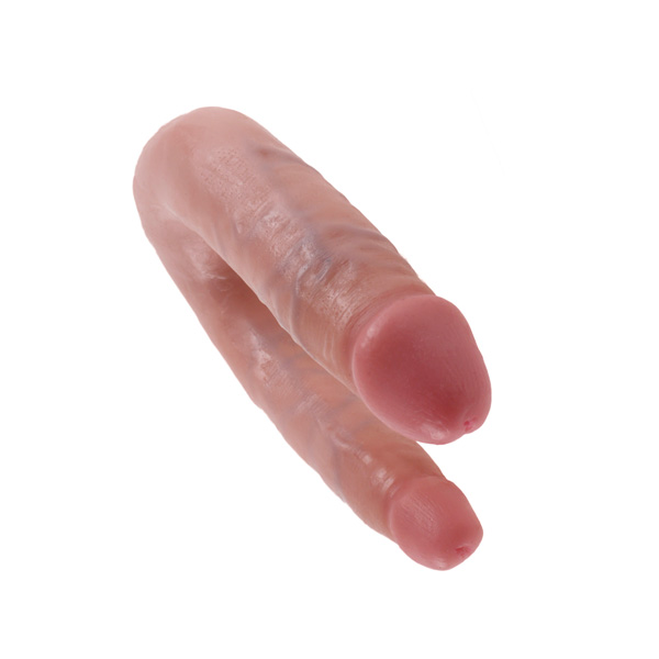 King Cock U Shaped Double Trouble Small Cock Flesh
