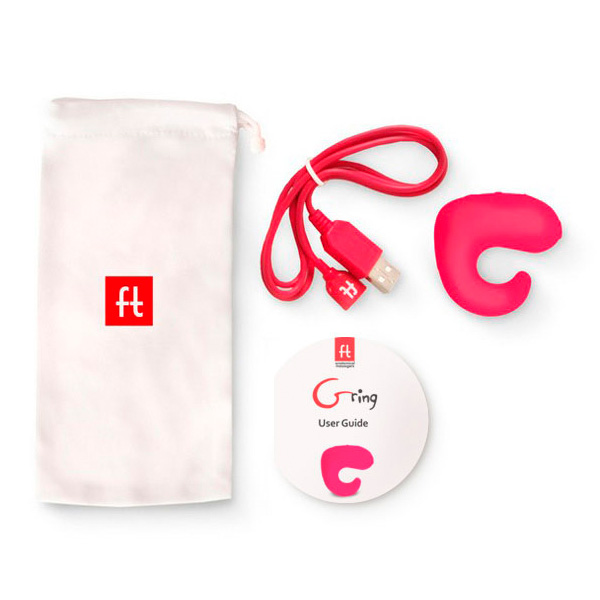 情趣用品Fun Toys G ring Vibrator and Remote Control